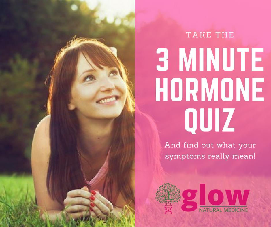 3 Minute Hormone Quiz