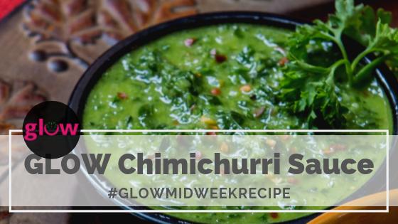 GLOW Chimichurri Sauce