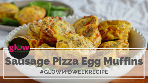 Sausage Pizza Egg Muffins