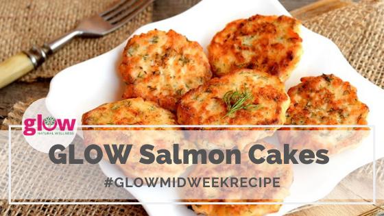 Glow Salmon Cakes