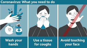 Instructions on what you need to do to avoid coronavirus