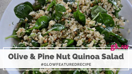 Olive & Pine Nut Quinoa Salad