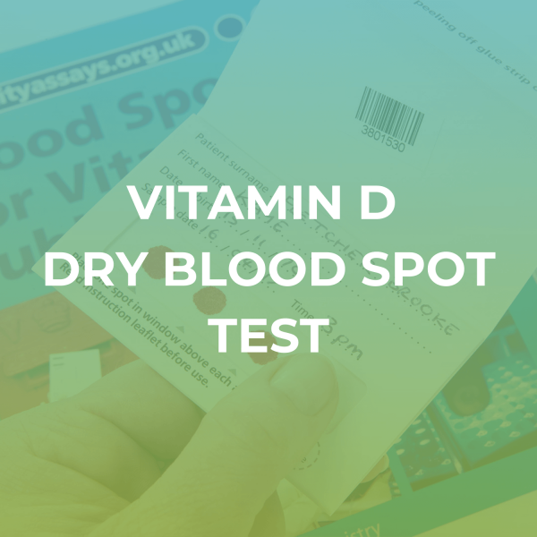 Vitamin D Dry Blood Spot Test