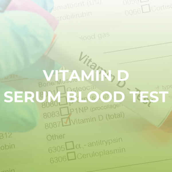 Vitamin D Serum Blood Test