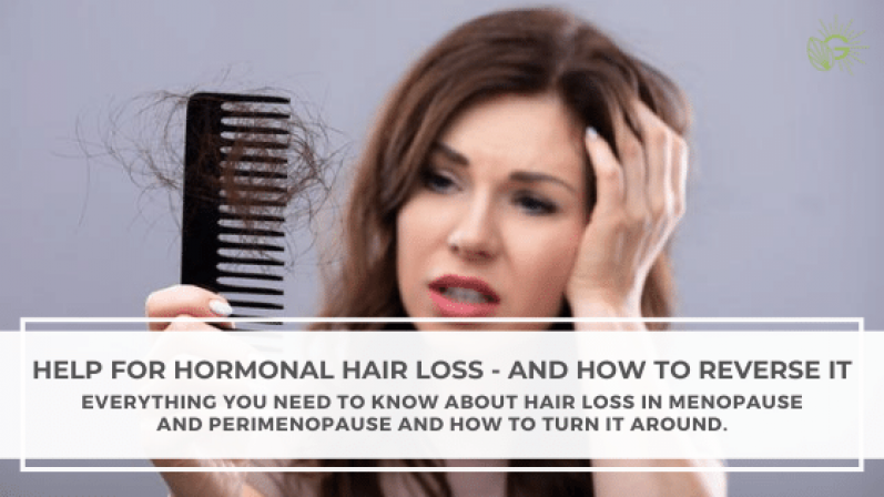 Help for Hormonal Hair Loss - And How to Reverse It Blog Header
