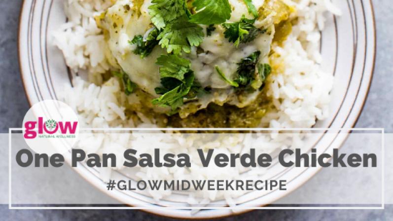 One Pan Salsa Verde Chicken 2
