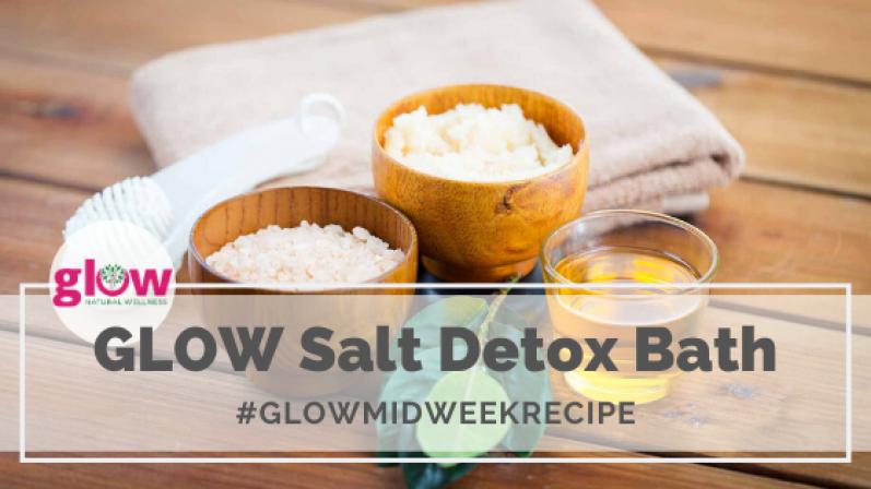 GLOW Salt Detox Bath