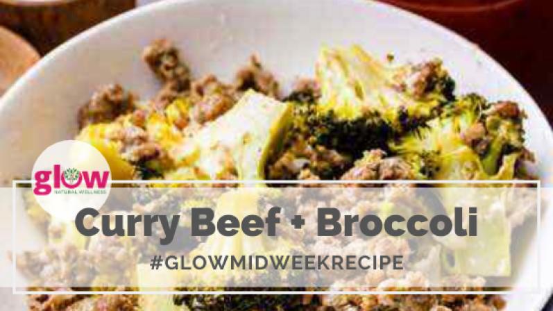 Curry Beff + Broccoli